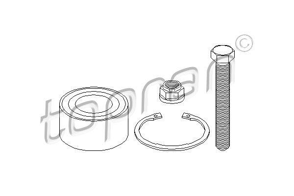 Achetez Jeu de joints-soufflets TOPRAN 722 171 (Hauteur: 202mm) à un rapport qualité-prix exceptionnel