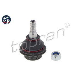 t TOPRAN t+ Vorderachse beidseitig, oben Gewindemaß: M 14 x 1,5 mm Trag- / Führungsgelenk 722 222 günstig kaufen