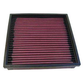 33-2003 K&N Filters Langzeitfilter Länge: 210mm, Breite: 206mm, Höhe: 40mm Luftfilter 33-2003 günstig kaufen