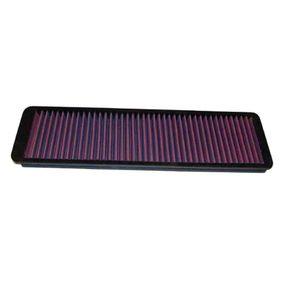 33-2011 K&N Filters Langzeitfilter Länge: 419mm, Breite: 146mm, Höhe: 19mm Luftfilter 33-2011 günstig kaufen