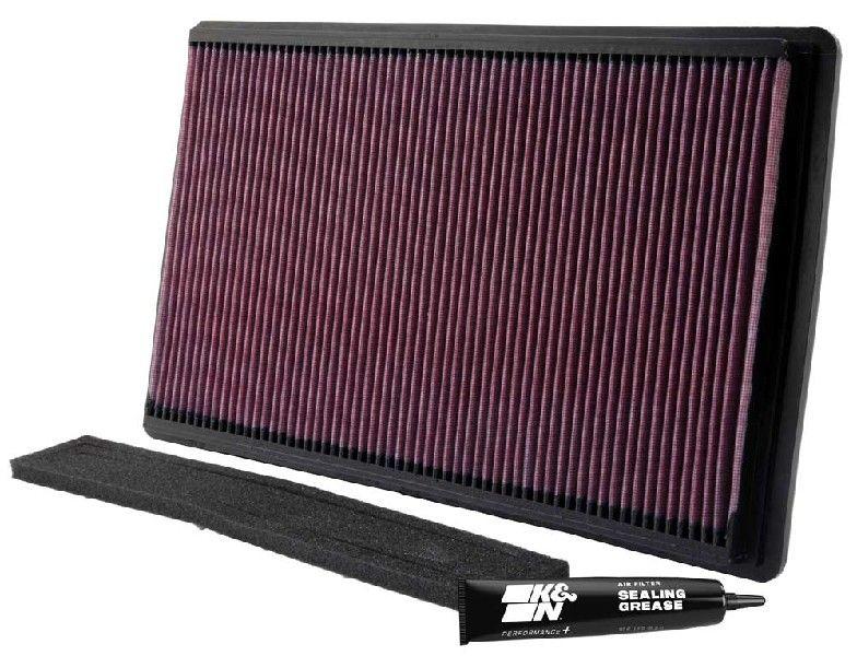 33-2035 K&N Filters Långtidsfilter L: 446mm, B: 270mm, H: 27mm Luftfilter 33-2035 köp lågt pris