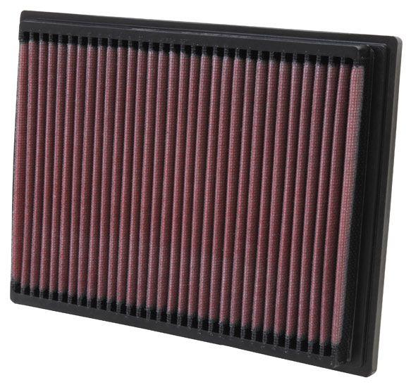 Origine Filtre à air K&N Filters 33-2070 (Longueur: 235mm, Longueur: 235mm, Largeur: 175mm, Hauteur: 25mm)