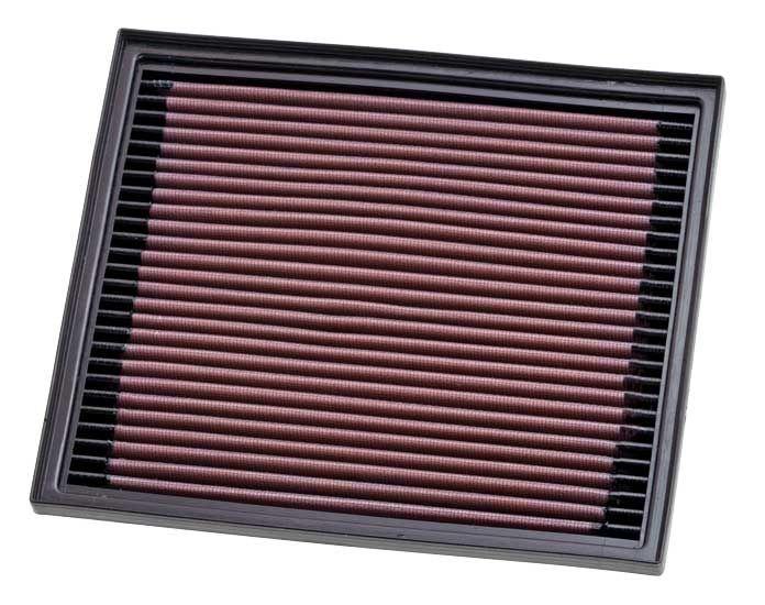 K&N Filters: Original Luftfilter 33-2119 (Länge: 238mm, Länge: 238mm, Breite: 203mm, Höhe: 30mm)