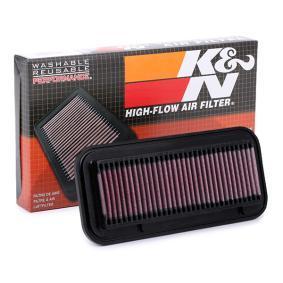 Αγοράστε 33-2131 K&N Filters Φίλτρο μεγάλης διάρκειας Μήκος: 257mm, Πλάτος: 116mm, Ύψος: 21mm Φίλτρο αέρα 33-2131 Σε χαμηλή τιμή