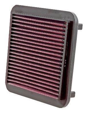 33-2186 K&N Filters Langzeitfilter Länge: 184mm, Länge: 184mm, Breite: 167mm, Höhe: 22mm Luftfilter 33-2186 günstig kaufen