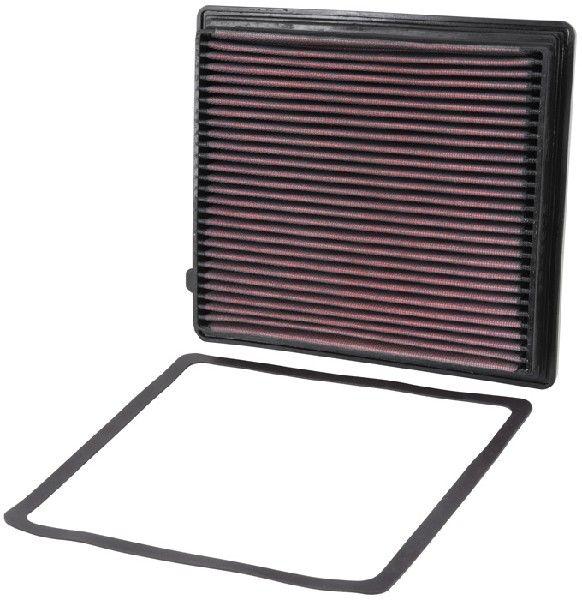 Origine Filtre à air K&N Filters 33-2206 (Longueur: 237mm, Longueur: 237mm, Largeur: 213mm, Hauteur: 27mm)