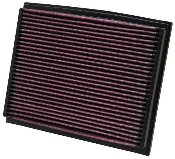 K&N Filters: Original Motorluftfilter 33-2209 (Länge: 262mm, Länge: 262mm, Breite: 210mm, Höhe: 29mm)