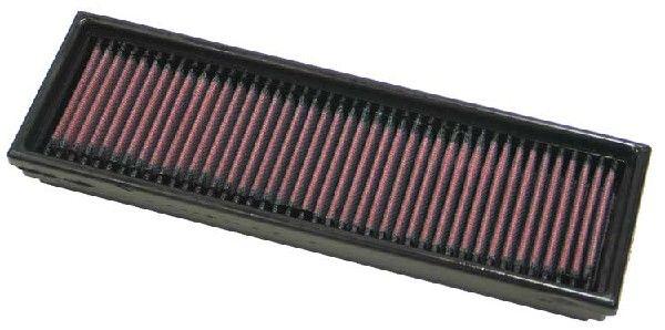 K&N Filters 33-2215 (Longueur: 306mm, Longueur: 306mm, Largeur: 98mm, Hauteur: 29mm) : Filtre à air Renault Kangoo kc01 2017