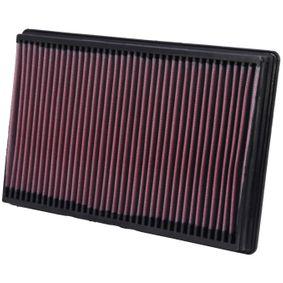 33-2247 K&N Filters Langzeitfilter Länge: 349mm, Breite: 237mm, Höhe: 40mm Luftfilter 33-2247 günstig kaufen