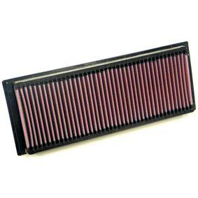 33-2256 K&N Filters Langzeitfilter Länge: 306mm, Breite: 117mm, Höhe: 29mm Luftfilter 33-2256 günstig kaufen