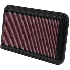 33-2260 K&N Filters Langzeitfilter Länge: 319mm, Breite: 192mm, Höhe: 24mm Luftfilter 33-2260 günstig kaufen
