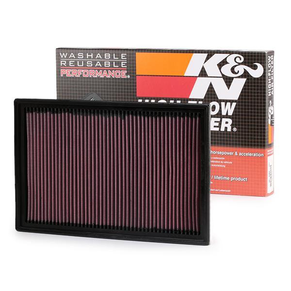 Achetez Filtre à air K&N Filters 33-2384 (Longueur: 343mm, Longueur: 343mm, Largeur: 222mm, Hauteur: 29mm) à un rapport qualité-prix exceptionnel