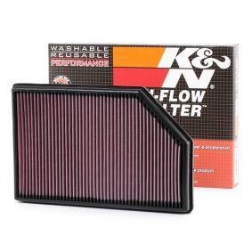 K/&N 33-2393 Filtro de Aire Coche