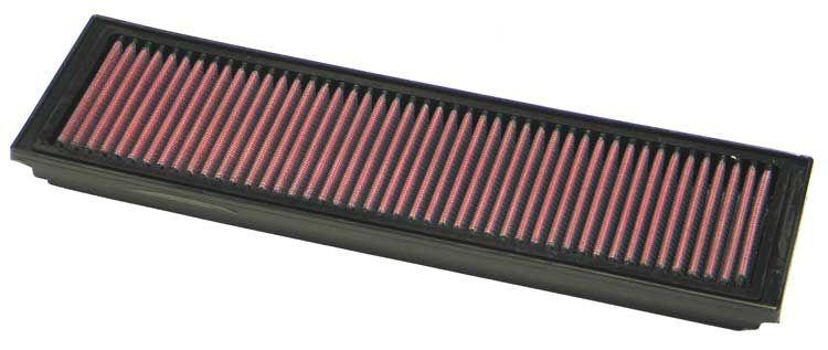 Купете 33-2677 K&N Filters фълтър за дълъг пробег дължина: 338мм, дължина: 338мм, ширина: 98мм, височина: 22мм Въздушен филтър 33-2677 евтино