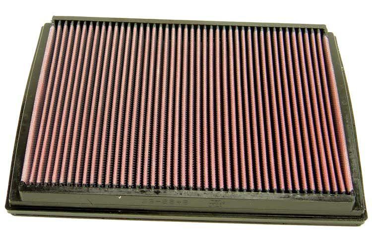 K&N Filters: Original Luftfiltereinsatz 33-2848 (Länge: 322mm, Länge: 322mm, Breite: 248mm, Höhe: 30mm)