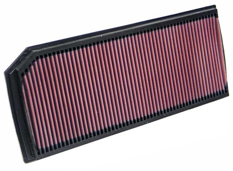 AUDI A3 2018 Motorluftfilter - Original K&N Filters 33-2888 Länge: 402mm, Länge: 402mm, Breite: 171mm, Höhe: 30mm