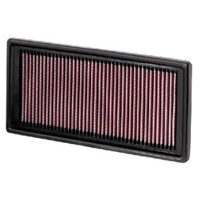 Kupi K&N Filters trajni filter Dolzina: 327mm, Sirina: 152mm, Visina: 29mm Zracni filter 33-2928 poceni