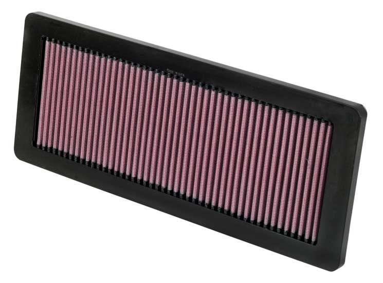 K&N Filters: Original Motorluftfilter 33-2936 (Länge: 362mm, Länge: 362mm, Breite: 146mm, Höhe: 22mm)