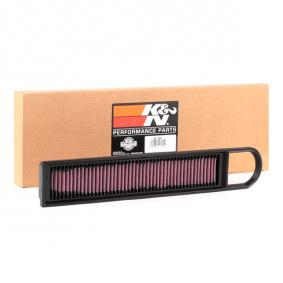 Kupi 33-2941 K&N Filters trajni filter Dolzina: 492mm, Sirina: 84mm, Visina: 17mm Zracni filter 33-2941 poceni