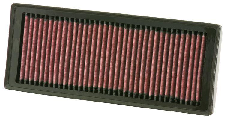 K&N Filters: Original Luftfilter 33-2945 (Länge: 321mm, Länge: 321mm, Breite: 127mm, Höhe: 40mm)