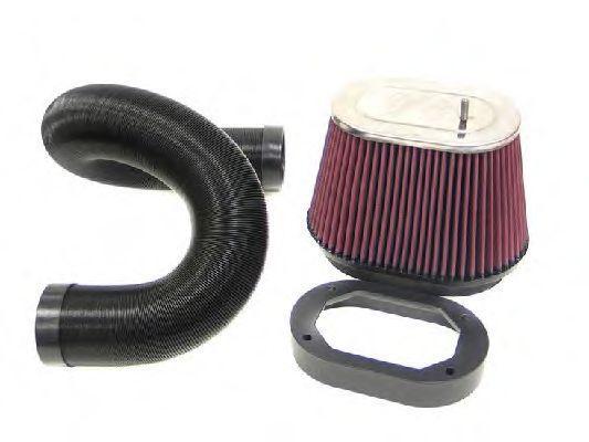 Αγοράστε 57-0487 K&N Filters Σύστημα σπορ φίλτρου αέρα 57-0487 Σε χαμηλή τιμή