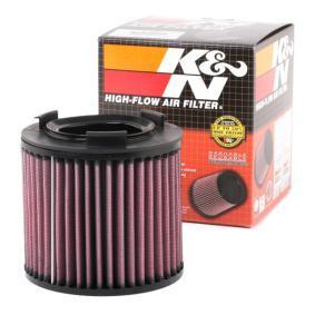 Kupi K&N Filters trajni filter Dolzina: 143mm, Sirina: 76mm, Visina: 129mm Zracni filter E-2997 poceni