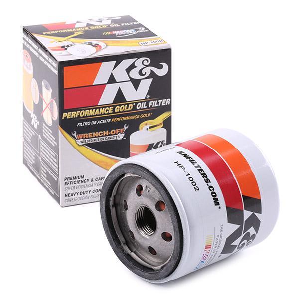 HP-1002 K&N Filters Ölfilter Bewertung