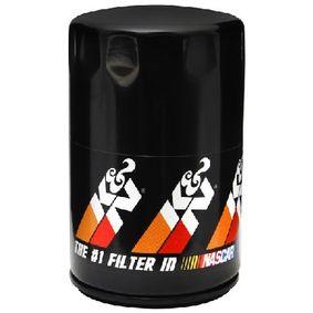 PS-2005 K&N Filters Anschraubfilter Ø: 76mm Ölfilter PS-2005