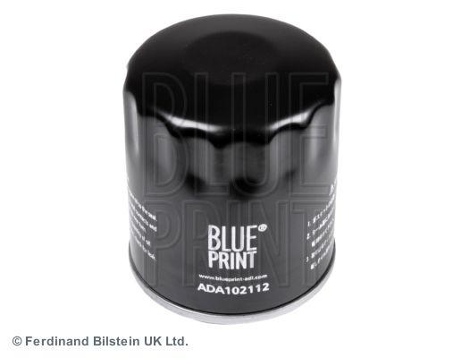 Opel KARL 2019 Oil filter BLUE PRINT ADA102112: Screw-on Filter
