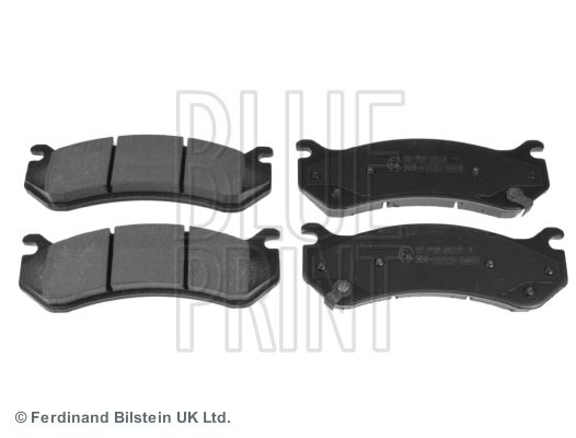 Bremsbelagsatz, Scheibenbremse BLUE PRINT ADA104254 Bewertungen