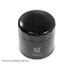 ADG02110 BLUE PRINT Filtro aparafusado Ø: 68,0mm, Altura: 72mm Filtro de óleo ADG02110 comprar económica