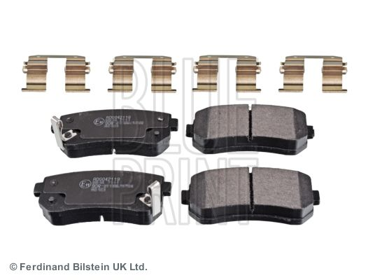 BLUE PRINT Brake Pad Set, disc brake ADG042119