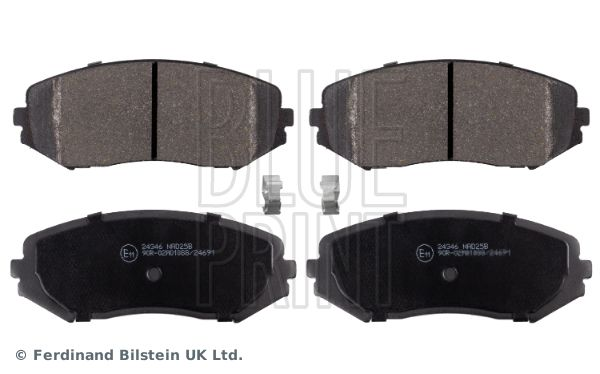 Disk brake pads ADK84234 BLUE PRINT — only new parts