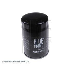 ADM52116 BLUE PRINT Filtro aparafusado Ø: 78,5mm, Altura: 121,5mm Filtro de óleo ADM52116 comprar económica