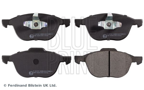BLUE PRINT Brake Pad Set, disc brake ADM54282