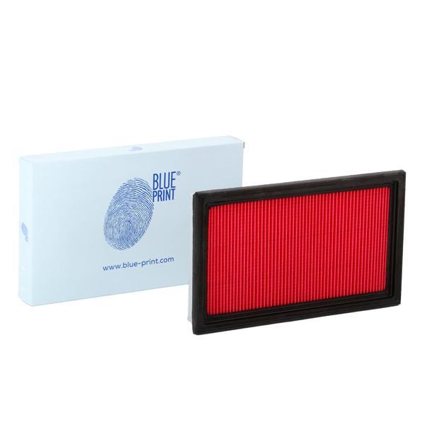 NISSAN MURANO 2020 Luftfiltereinsatz - Original BLUE PRINT ADN12215 Länge: 280mm, Länge: 280mm, Breite: 167,0mm, Höhe: 34mm