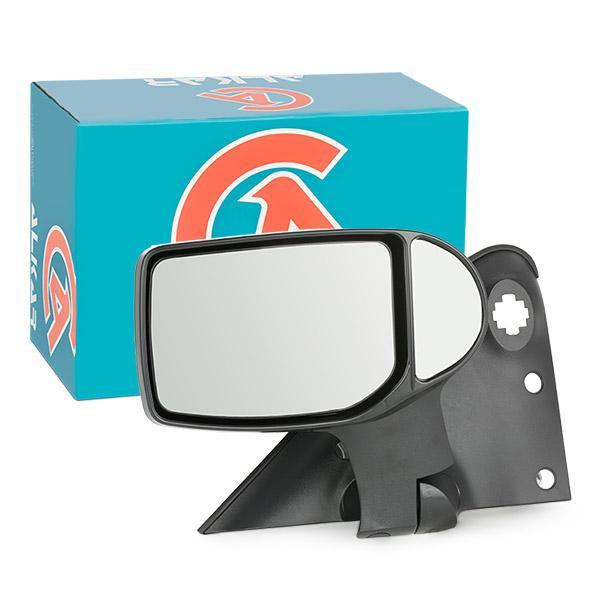 9228960 ALKAR rechts, elektrisch, beheizt, Komplettspiegel, konvex, kurzer Spiegelarm Außenspiegel 9228960 günstig kaufen