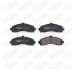 Bremsbelagsatz, Scheibenbremse SKBP-0010190 bestellen und wechseln