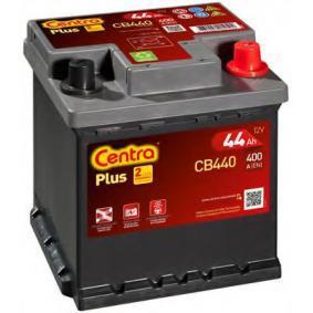 CB440 CENTRA Plus Batterikapacitet: 44Ah Köldstartström EN: 400A, Spänning: 12V, Polställning: 0 Batteri CB440 köp lågt pris
