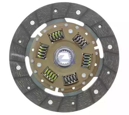 Clutch disc DE-34FO AISIN — only new parts