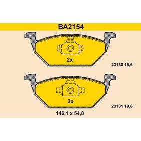 Bremsbelagsatz, Scheibenbremse BA2154 Niedrige Preise - Jetzt kaufen!