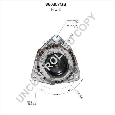 Lichtmaschine PRESTOLITE ELECTRIC 860807GB mit 17% Rabatt kaufen