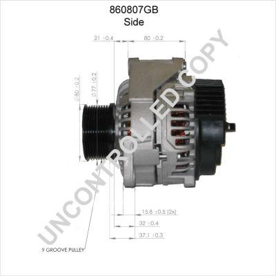 860807GB Lichtmaschine PRESTOLITE ELECTRIC online kaufen