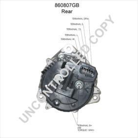 PRESTOLITE ELECTRIC Generator 860807GB: köp online