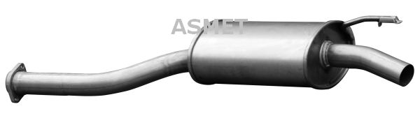 ASMET: Original Auspuff Mitteltopf 01.011 ()