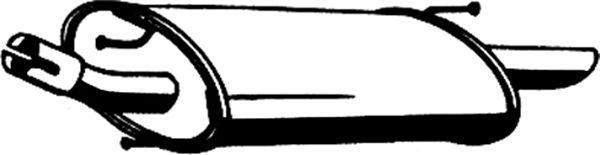 Endtopf 07.107 Ford FIESTA 2000