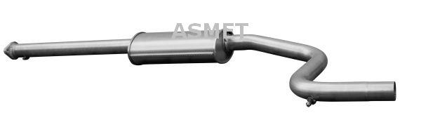 ASMET: Original Vorschalldämpfer 07.183 ()