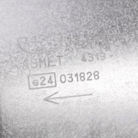 13.017 Bakre ljuddämpare ASMET originalkvalite