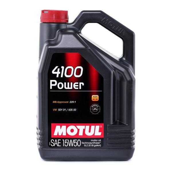 Olio motore MOTUL 100273 Recensioni