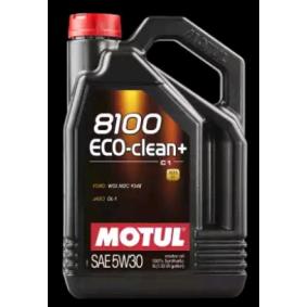 101584 Motoröl MOTUL 8100ECOCLEAN5W30 - Große Auswahl - stark reduziert
